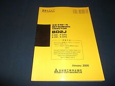 MITSUBISHI BD2J TRACTOR DOZER P-DD P-DPS S-DD S-DPS PARTS BOOK MANUAL