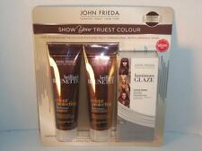 John Frieda Brunette Collection Shampoo Conditioner Glaze Clear Gloss -081663
