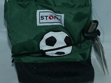 Stonz Boots Booties Baby Infant Toddler MEDIUM Girl Boy 6-12 months Soccer Ball