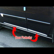 Side Door Sill Chrome Garnish 4P Set For 00 04 Kia Spectra