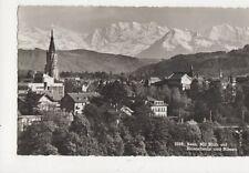 Bern Mit Blick Auf Bluemlisalp & Niesen 1956 RP Postcard Switzerland 646a