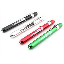 Doctor Nurse Pupil Gauge Penlight Diagnostic Medical Pen light Neuro Torch HOT