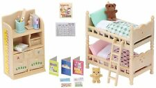 Sylvanian Families ~ Children's Bedroom Furniture Set ~ Over 25 Pieces