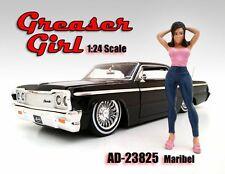 Greaser Girl Maribel Figure Pink American Diorama Figurine 23825 1/24 scale