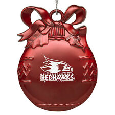 Southeast Missouri State University - Pewter Christmas Tree Ornament - Red