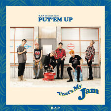 "K-POP B.A.P (BAP) 5th Single Album ""PUT'EM UP"" CD + Photocard + Photobook Sealed"