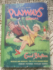 Vintage Childrens Book-Playways Annual by Enid Blyton