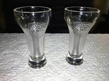 Set Of 2 MILLER CHILL SHOT GLASS NO CHIPS GOOD COND