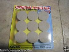 18pcs Self Adhesive Floor Protector Scratch Skid Felt Pads Furniture Chair Table