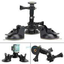 1/4''Screw  Sucker Tripod Car Mount for Gopro Hero 5 4 Session SJCAM DSLR Camera