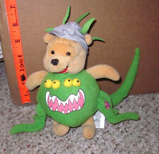 WINNIE POOH plush HALLOWEEN doll Disney stuffed animal AA Milne monster costume
