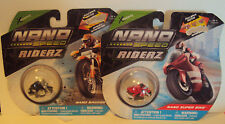 XConcepts Nano Speed Riderz Lot of 2 Packages Black Bagger Red Super Bike Age 4+