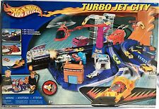 HOT WHEELS Turbo Jet City Play Set NEW!