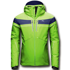 Kjus Herren Skijacke SPEED READER JACKET grün/blau