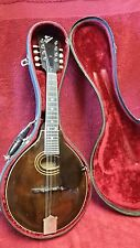Vintage The Gibson A2 1923 Lloyd Loar era? mandolin w/ original pick gard & case