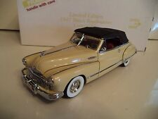 DANBURY MINT BUICK ROADMASTER CONVERTIBLE LIMITED EDITION 1947    IN BOX