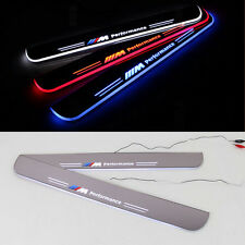 LED Moving Door Scuff Plate Step Light Panel Flash Sills for BMW 3 Series 13-15