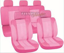 Sitzbezug Sitzbezüge Schonbezüge Bezug Pink / Rosa #7 für VW Seat Skoda