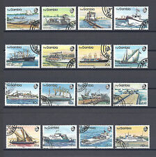 GAMBIA 1983 494/509 USED Cat £22