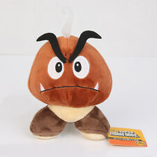 """Super Mario Brothers 5"""" Goomba Soft Cosplay Plush Toy Brown Doll New with tag US"""