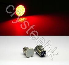 2x T25/S25 1157 BAY15D COB LED Stop Tail Turn Brake Red Light  Lamp Bulb