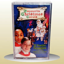 Favourite Christmas Carols - Audio Cassette - Wells, Ely, Guildford, Norwich NEW