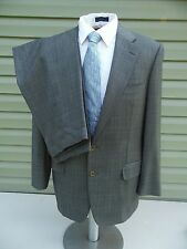 ERMENEGILDO ZEGNA 100% WOOL 2 PC SUIT gray 44 32x31