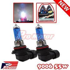 2 x 9006 HB4 Fog Driving Light Bulb Power Gas Xenon Halogen 12v 55W 5000k White