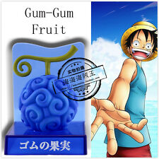One Piece OP Gum-Gum Fruit 7cm Figure Collectable Monkey D Luffy`s Gum Toy Doll