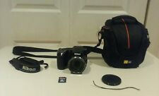 Used Black Nikon COOLPIX L840 16.0MP Digital Camera Bundle