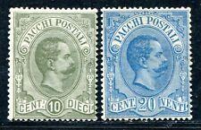 ITALIEN PAKET 1884 1-2 * TADELLOS 450€(S0298