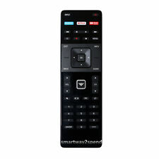 VIZIO XRT122 TV REMOTE CONTROL WITH XUMO, NETFLIX AND IHEART RADIO APPS.