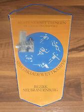 Wimpel Bezirk Neubrandenburg Bestenermittlung im Lehrlingssport Spartakiade DDR