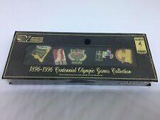 1896-1996 Centennial Olympic Games Collection - 5 LAPEL PIN - Atlanta 1996 Games
