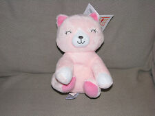 JUST ONE YOU STUFFED PLUSH PINK KITTY CAT MUSICAL WIND UP BABY TOY LULLABY