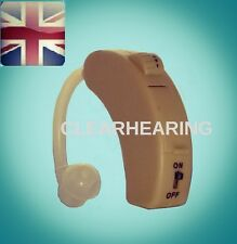 BEHIND EITHER EAR HEARING AMPLIFIER AID