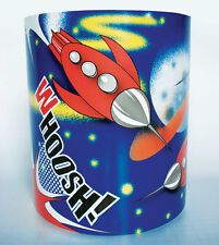 Children's Babies Nursery Boy's Space Rocket Light Lamp shade