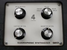 QED Quadraphonic Synthasiser surround sound synthesizer adapter VGC rare