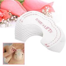 10 pcs Bare Instant Bring Breast Lift Support Bust Push Bra Shaper Adhesive Tape