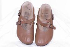 Women's Betula By Birkenstock Clogs Shoes Mules Brown Size 37 US 6
