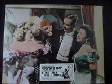 Aushangfoto COWBOY (1957) Jack Lemmon Glenn Ford