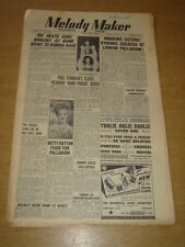 MELODY MAKER 1948 AUGUST 7 TED HEATH ANDREWS SISTERS BETTY HUTTON PALLADIUM +