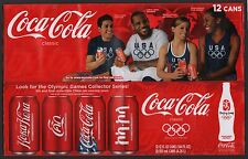 Coca Cola Cardboard 12-Pack Can Case - 2008 Beijing Summer Olympics Case B