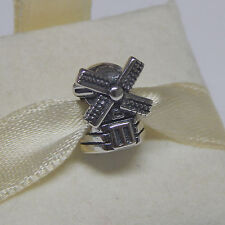 New Authentic Pandora Charm 791297 Windmill Bead Box Included