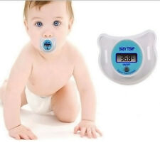 Digital Dummy Soother Pacifier Baby Toddler Child Oral Thermometer Mini Safe 1PC