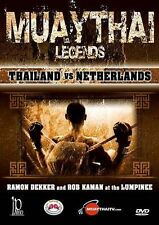 Muay Thai Legends - Thailand vs Netherlands with Several Champions, New DVDs