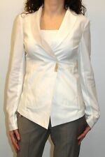 GIACCA BRUNELLO CUCINELLI DONNA JACKET ЖАКЕТ, M0V113179 BIANCO MIS. L (44) PP