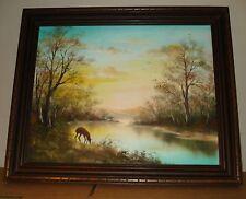 Ros Roslyn Stallcup Original oil painting Famed Virginia Beach teacher&Artist