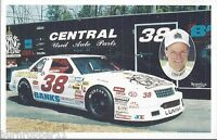 "1994 BABE BRANSCOMBE ""RACING CAPITAL TRAILER"" #38 NASCAR BUSCH NORTH POSTCARD"