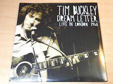 MINT & Sealed !! Tim Buckley/Dream Letter : Live In London 1968/1993 Double LP